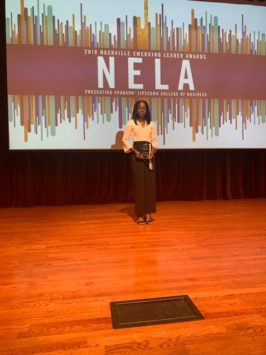 Brown-Gaines Wins NELA Award