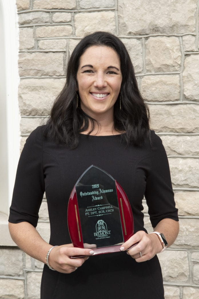 Dr. Ashley Campbell Holding Award
