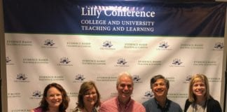Faculty at Conference