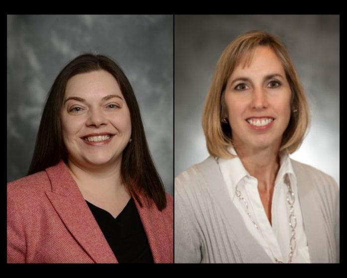 Dr. Kara Smith and Dr. Robin Lovgren