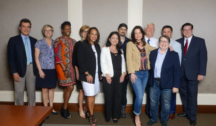 The Store Grant announcement at Belmont University in Nashville, Tennessee, August 19, 2019.