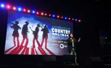 Filmmaker Ken Burns will unveil Nashville's first public screening of Ken Burns's 'Country Music' a highly anticipated eight-part, 16-hour documentary at Belmont University in Nashville, Tennessee, May 29, 2019.