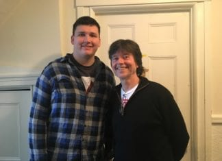 Daniel Updegraff with Ken Burns