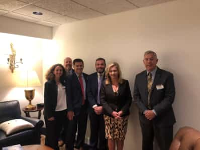 Pharmacy reps with Senator Marsha Blackburn
