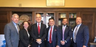 David Gregory and Pharmacy Reps with Rep. Cooper