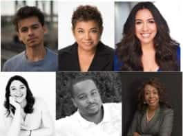 Head shots of several Diversity Symposium participants