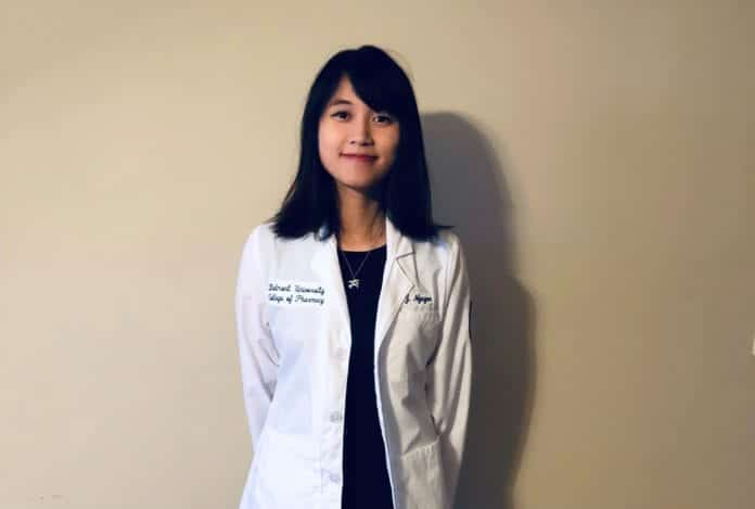 Julie Nguyen, pharmacy student at Belmont University