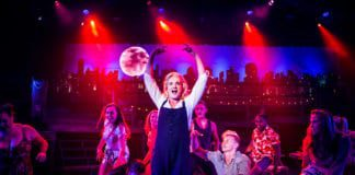 Still from Mamma Mia play