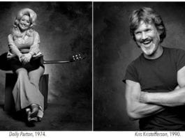 Photos of Dolly Parton & Kris Kristofferson