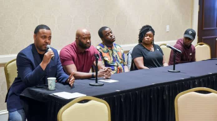 Panelists at 'Minding the Gap: A Diversity in Entertainment Symposium' at Belmont University September 27, 2019