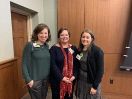 Carter, Price and Maszaros at conference