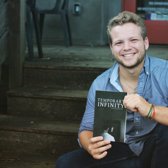Austin Lanning, Belmont University sophomore and author of