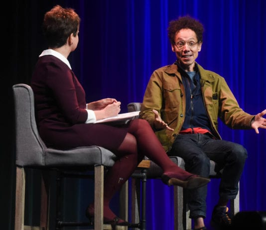 Malcolm Gladwell Talks with Demetria Kalodimos