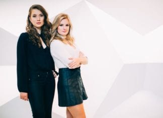 Belmont alumnae Channing Moreland and Makenzie Stokel, co-founders of EVAmore