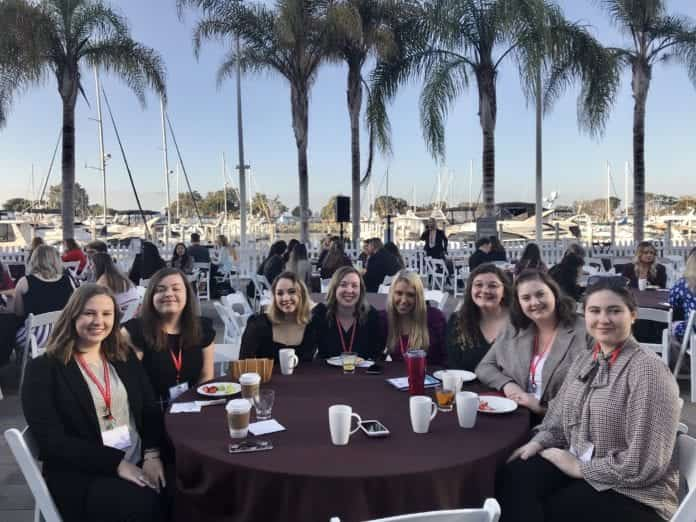PRSSA National conference attendees