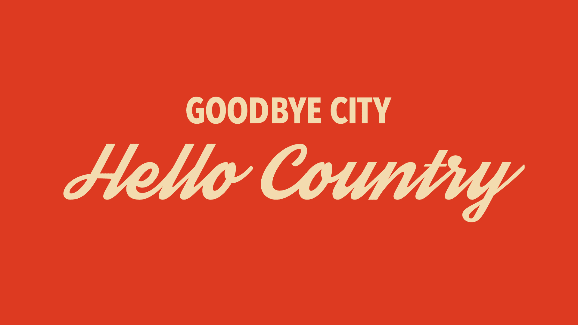 "A piece of animation from the ""Hello Country"" Lyric Video by Abraham Mast"