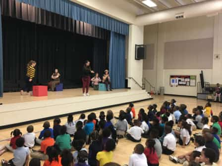 RepCo performing at local elementary school