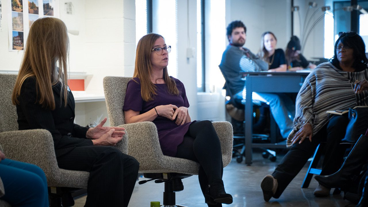 Jacobson joined other panelists for the Designing for Inclusion Discussion