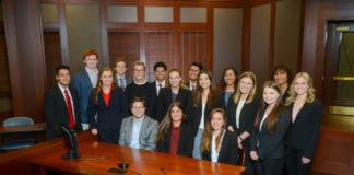 Mock Trial Group Photo
