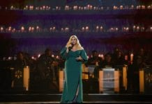 Trisha Yearwood Performing at CMA Country Christmas