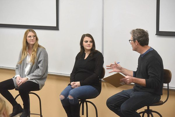 Entrepreneur-in-Residence, Dan Hogan talks with Emily Eggebrecht, founder of Consider the Wldflwrs and Megan Feeman, founder of No Baked Cookie Dough at Belmont