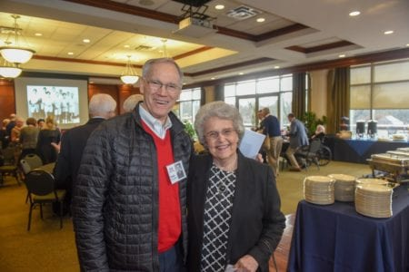 Tower Society Reunion Brunch at Belmont in 2019
