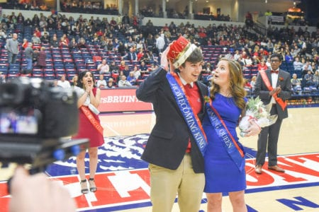 Two students announced for Homecoming Court