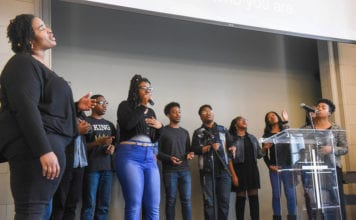 The Black Student Association hosted several chapel services