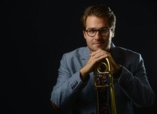 Collin Felter with Trombone