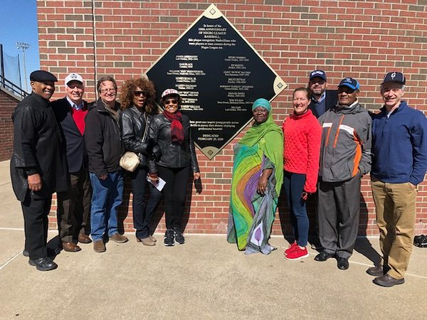 Local Groups with the new plaque
