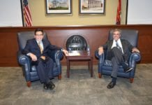 Solicitor General Noel Francisco and Dean Alberto Gonzales