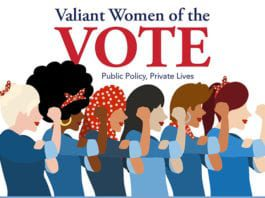 Valient Women of the Vote Graphic