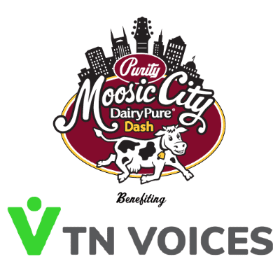 Moosic City and TN Voices logos