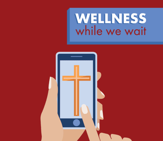 Wellness While We Wait Graphic