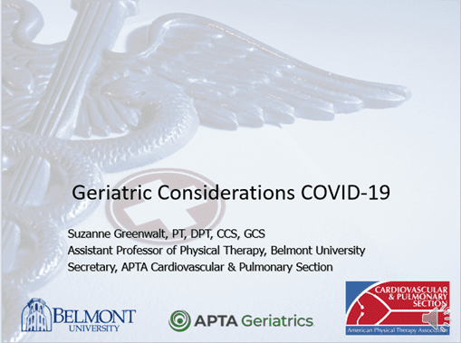 Geriatric Considerations Course