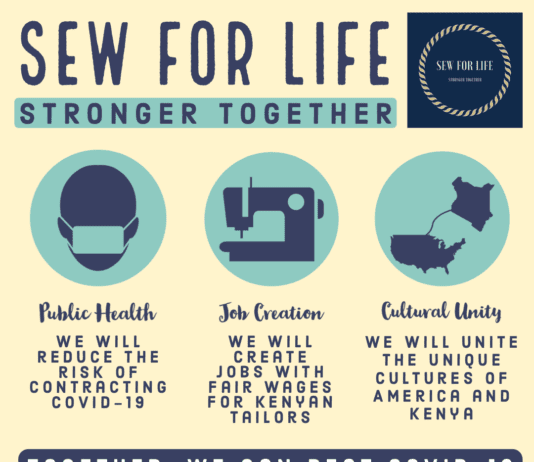 Sew for Life Impacts Infographic