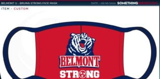 Belmont-Branded Face Mask