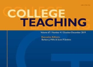 College Teaching cover