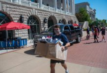 Belmont Junior, Easton Kerr, moving in freshmen