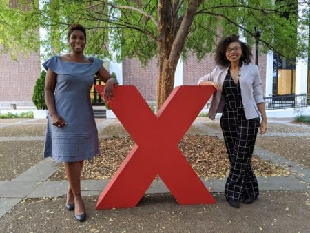 Blake Simpson and Alora Young at TEDxNashville at Belmont University.