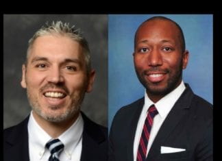 headshots of Drs. Lee and Diggs