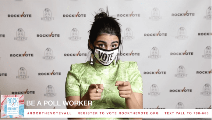 Kate Cosentino, host of 'Rock the Vote'