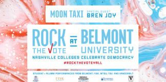 Rock the Vote at Belmont header