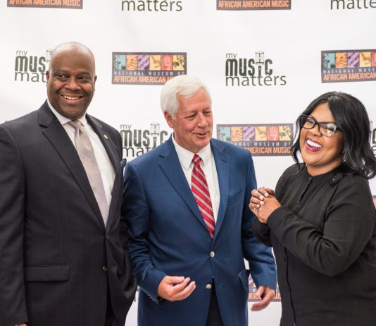 Henry Hicks, Dr. Fisher and Cece Winans