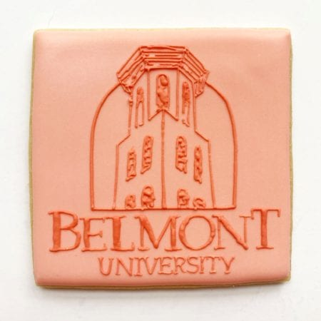 Cookie Depicting Belmont logo