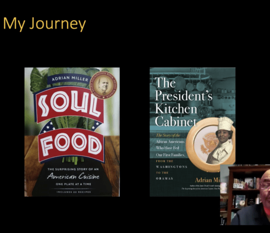 Adrian Miller and published food books