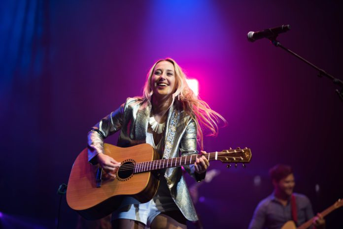 Ashely Cooke performs at Country Music Showcase 2019