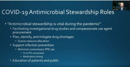 COVID-19 Antimicrobial Stewardship Roles