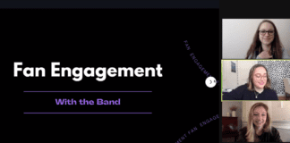 "Screenshot of ""Fan Engagement"" workshop"