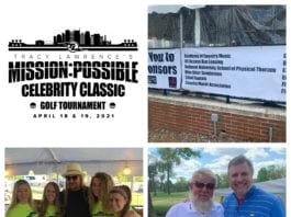 Celebrity Golf Shootout collage